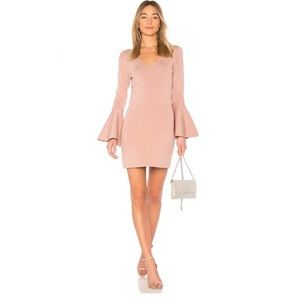 Central Park West Olympia Dress in Mauve XS NWOT
